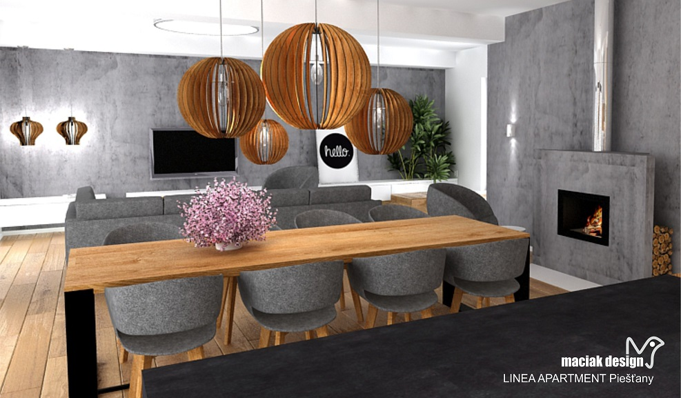 maciak design - LINEA APARTMENT