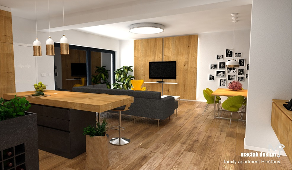maciak design - FAMILY APARTMENT